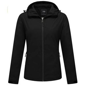 ZSHOW Packable Lightweight Windproof Hooded Jacket